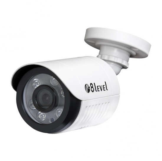 External fixed lens bullet AHD camera (AHB-E1080-363-1) | 8level
