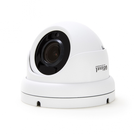 External IP surveillance camera (2MP, 2.7-13.5mm, PoE, WDR, IR30m,Starv) (IPED-2MPSV-VFM-1) | 8level