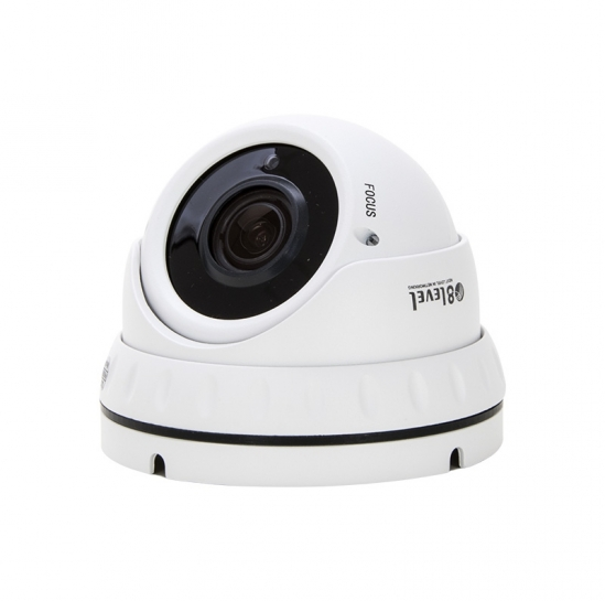 External IP surveillance camera (4MP, 2.8-12mm, PoE, WDR, IR30m, SD ) (IPED-4MP-VF-1) | 8level