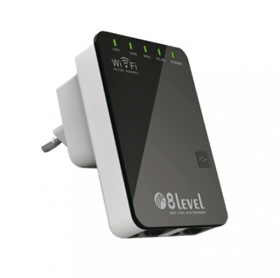 Repeater WiFi 300Mbps (WRP-300) | 8level
