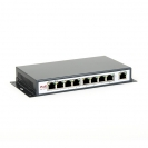 switch PoE 8level FEPS-1908 (8xFE PoE-af,1xUplink, 130W) (FEPS-1908)