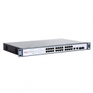 "Unmanaged PoE switch (24xFE PoE-af,2xGE/SFP,400W,1U,19"") (FEPS-2624F)"